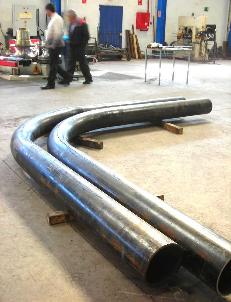 curvado de tubos