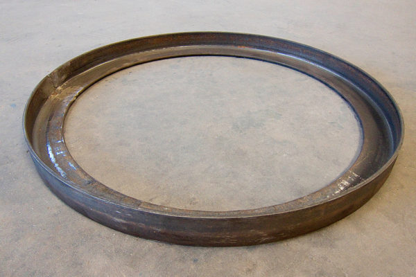 curvado de hierro
