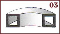 curvado de perfiles metálicos