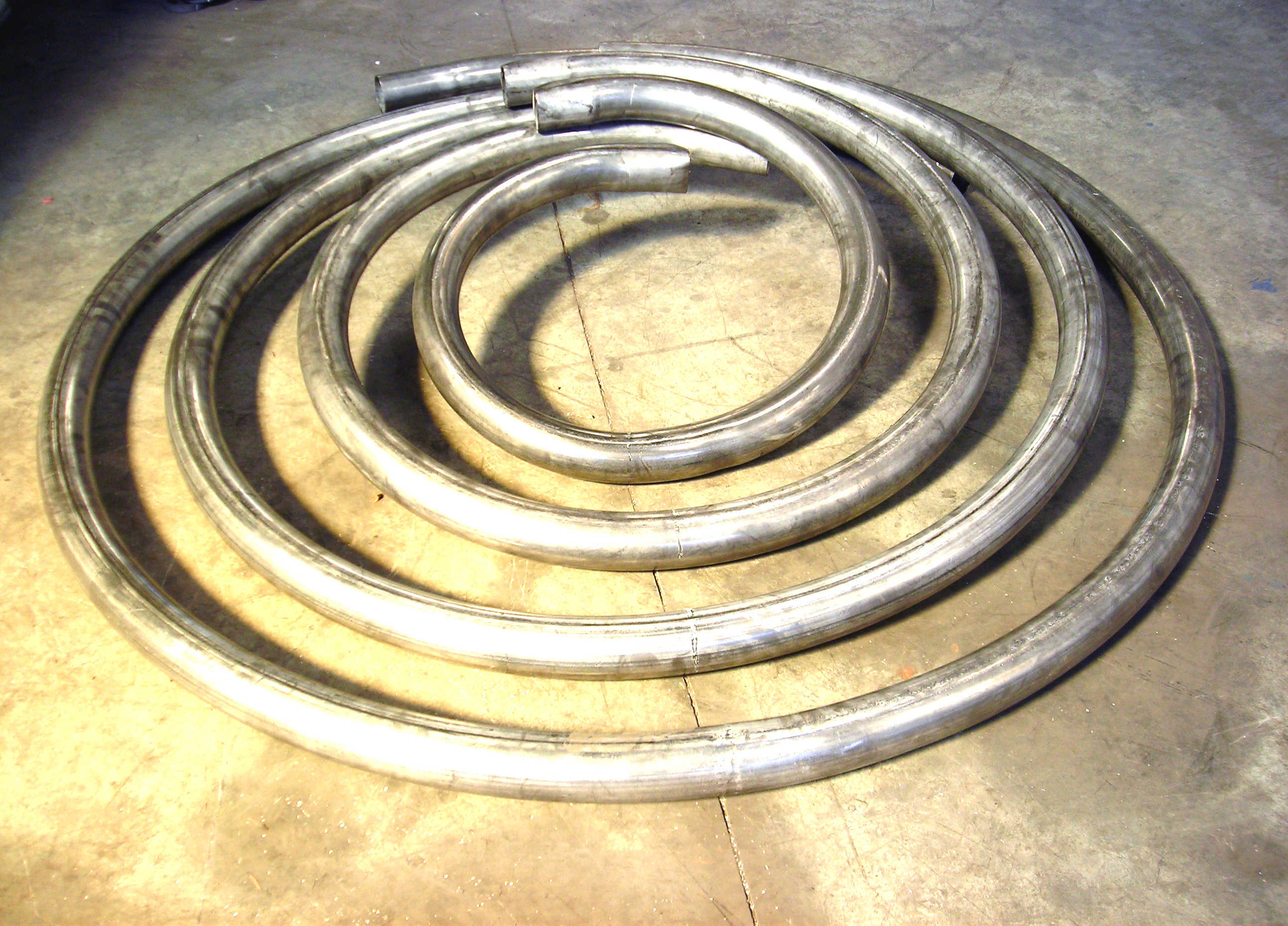 curvado de serpentines