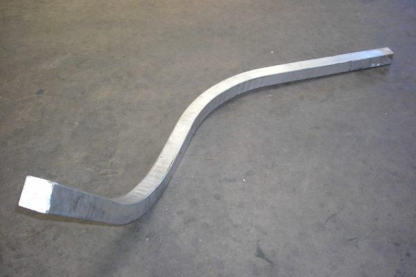 curvado de alumino
