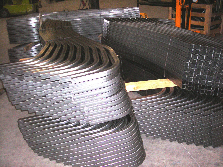 curvado de tubo cuadrado