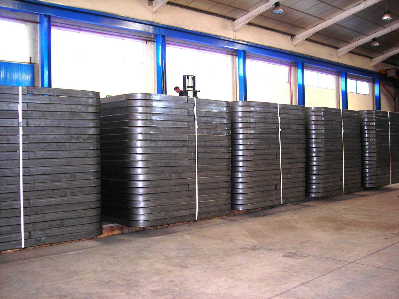 Curvado tubos gran formato